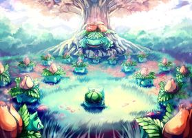 Pokemon : Bulbasaur Secret Garden