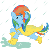 Request:  Dashing in the Rain by T-3000