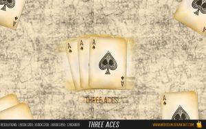 Three Aces by WebScUm