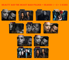 Beauty and the beast main folder season 1+2+3 icon by Aliciax16