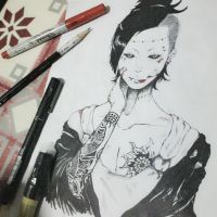 Uta and His Complicated Tattoos. XD by ChiakiChuckie