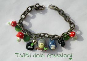 Studio Ghibli loving bracelet Version 2 by tivibi
