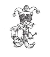 Jester Doll Concept by iemersonrosa