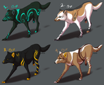 Point Adoptables - ALL SOLD by Night-Anders