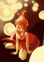 Flame Princess by mallary