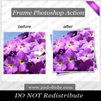 Photoshop Border Photo Action by PsdDude