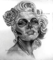 Day of Marilyn by jamesdangerharvey