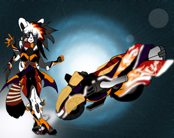 Kiza Frayastar: Tail chasers by divaqueen23