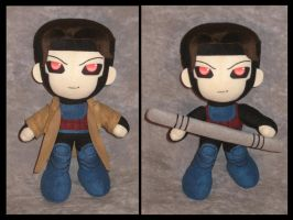 X-Men Gambit Plush by Earthfirefly