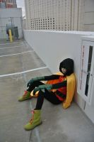 Damian Wayne: Reject by kay-sama