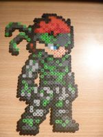 Camo Solid Snake by DisasterExe