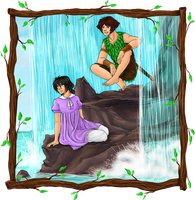 Peter and Wendy by TriaElf9