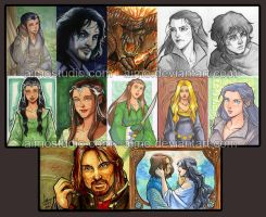 PSCs: Lord of the Rings by aimo