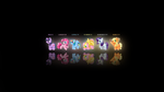 MLP Mane 6 Sprite Wallpaper by Zoiby