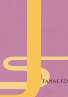 Tangled Minimalist Poster by anarchemitis