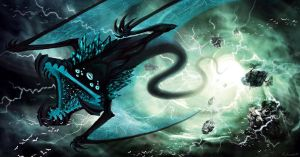 Lightning Serpent by vesner