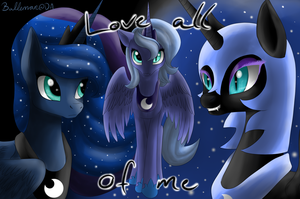 Princess Luna - Love All of Me by Balleman