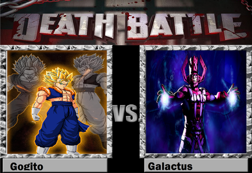 Death Battle! Gogito VS Galactus by pikachurulesyou