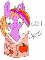Quill Sparkle - REQUEST by Cotton-Candy-OC