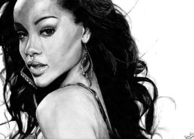 Rihanna by tajus
