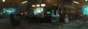 Megan Reed's Office Panorama by DART-A