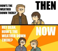 SPN: THEN AND NOW by HYUMAN