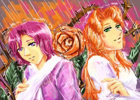 rose is rain by Maarika