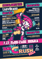 AniCrush Vol4 Flyer by mandichan