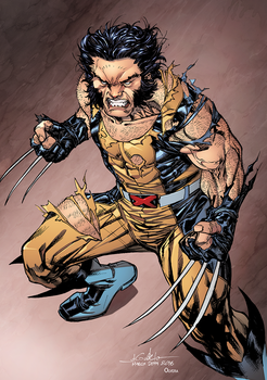 Wolverine by SpiderGuile colored by DanOlvera