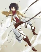 Mikasa by Limitless-Skye