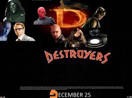 The Destroyers poster by SteveIrwinFan96