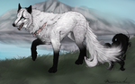 White - For WhiteSpiritWolf contest by Novie-Kenari