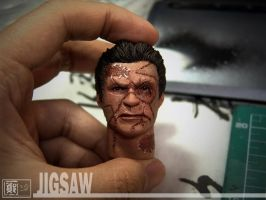 1-6 Jigsaw from Punisher Warzone headsculpt 2 by CheungKinMen