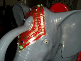 Lekan's Elephant.detail by charlieblue666