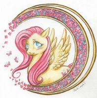 my little fluttershy by Schiraki