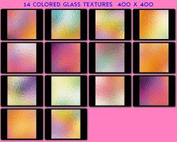 14 Colored Glass Textures by ambersstock