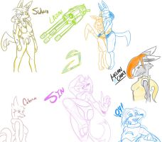 Stream Sketches 7-28-13 by xDracariox