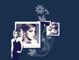 Emma Watson wallpaper 01 by Grouve