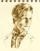 Matt Smith by WhatItMeansToBeHuman