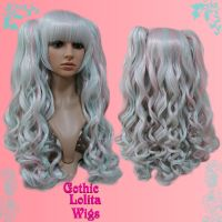 Blended Minty Pink Wig by GothicLolitaWigs