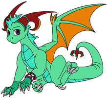 Young Dragon Adoptable CLOSED by Yorialu