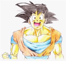 happy goku by kastrishis