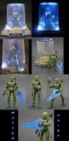 Master Chief Display Strip by Jin-Saotome