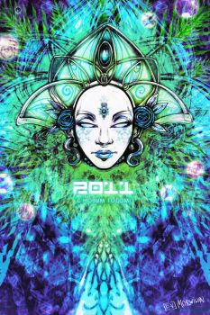 Snow Maiden 2011 Cosmic color by LimbicSplitter
