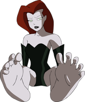 Poison Ivy's soles by T95Master