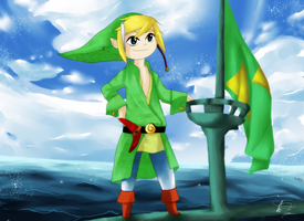 It's CAPTAIN Link by eki-kei