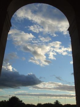 Arc of Clouds by cfs3creative
