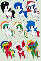 Adopt a pony #6 Nation Pony themed [6/9 OPEN] by LR-Studios