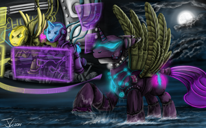 Fanart - MLP. Tranquil Diamond by jamescorck