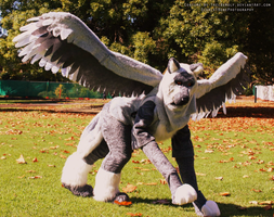 Guardian Angel   - Raphael Quadsuit- by TrelDaWolf